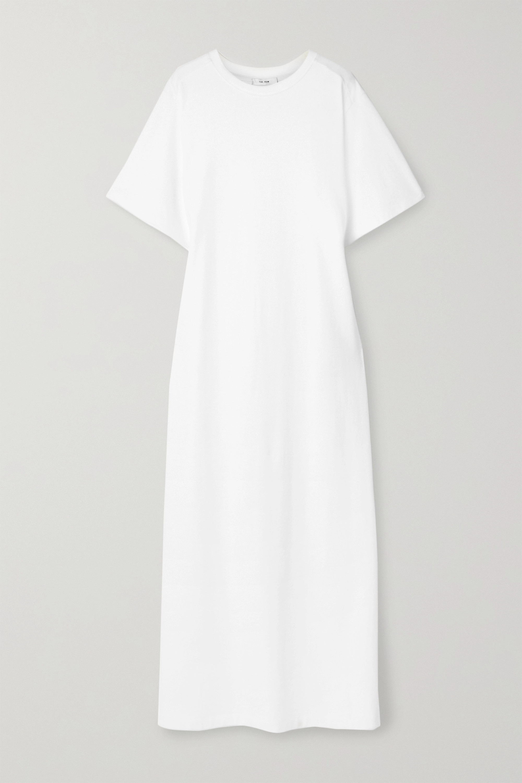 The Row Aprile cotton-jersey maxi dress