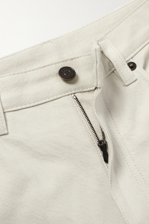 The Row Christie high-rise straight-leg jeans