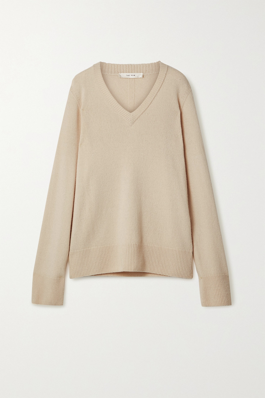 The Row Elaine oversized wool and cashmere-blend sweater