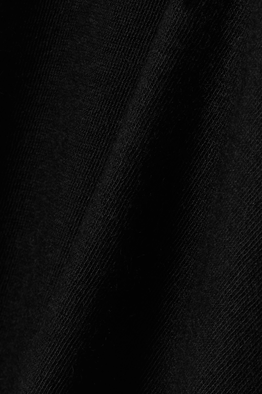 The Row Clovis ärmelloses Rollkragenoberteil aus Stretch-Kaschmir
