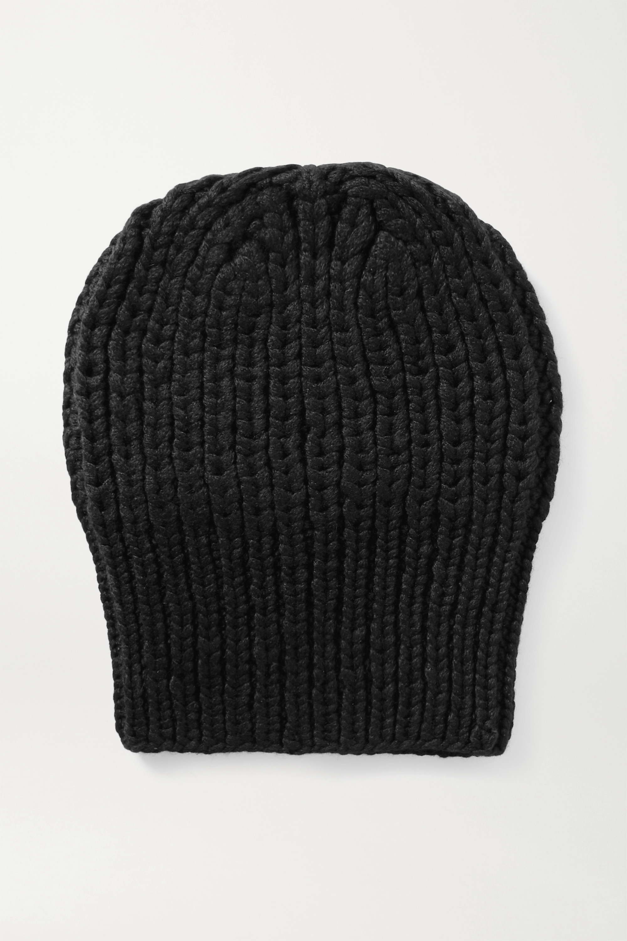 The Row Ayfer Beanie aus geripptem Kaschmir