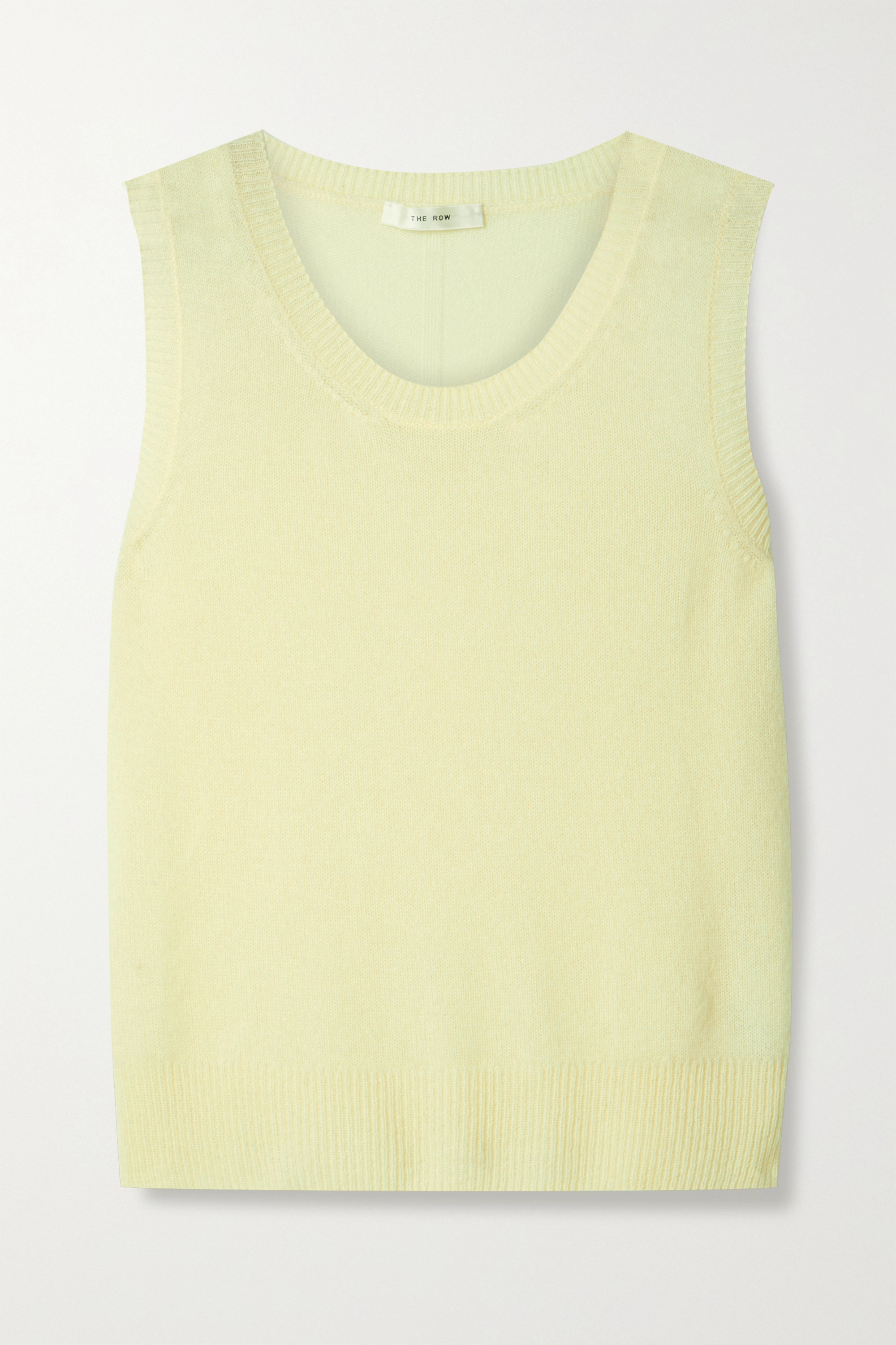 The Row Amalia cashmere tank