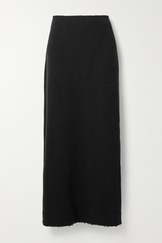The Row Anita bouclé maxi skirt