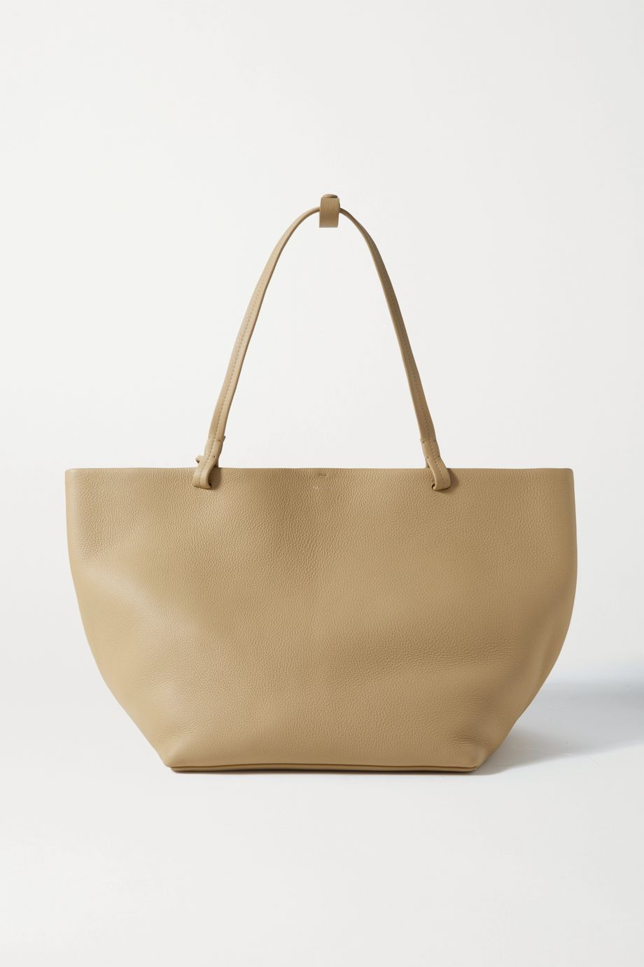 The Row Park 3 medium textured-leather tote