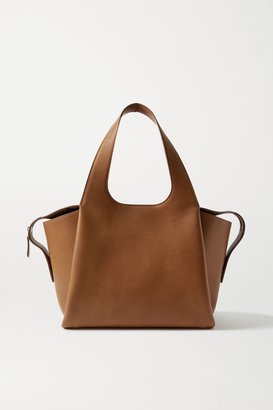 The Row TR1 Air large leather tote