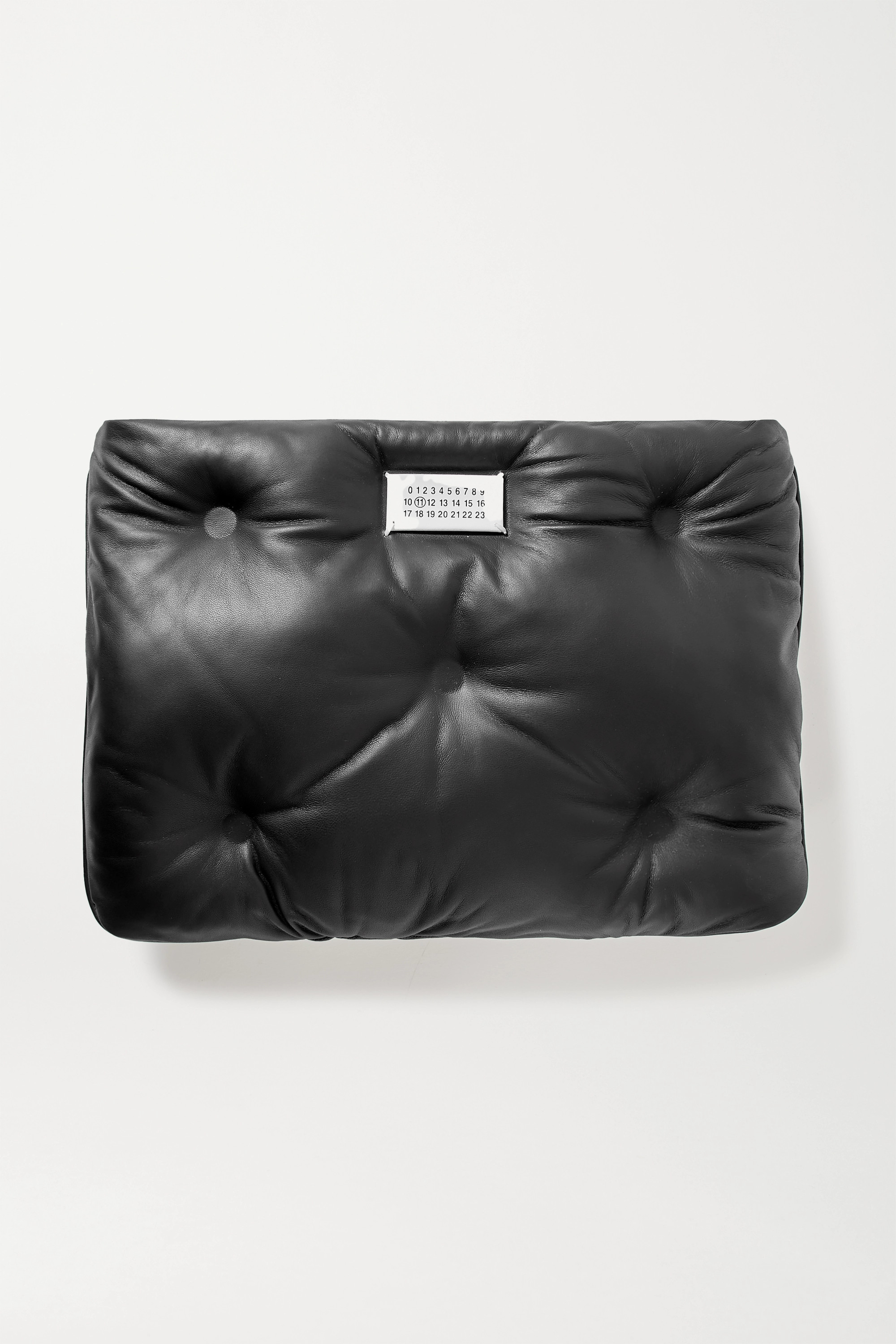Maison Margiela Glam Slam quilted leather clutch