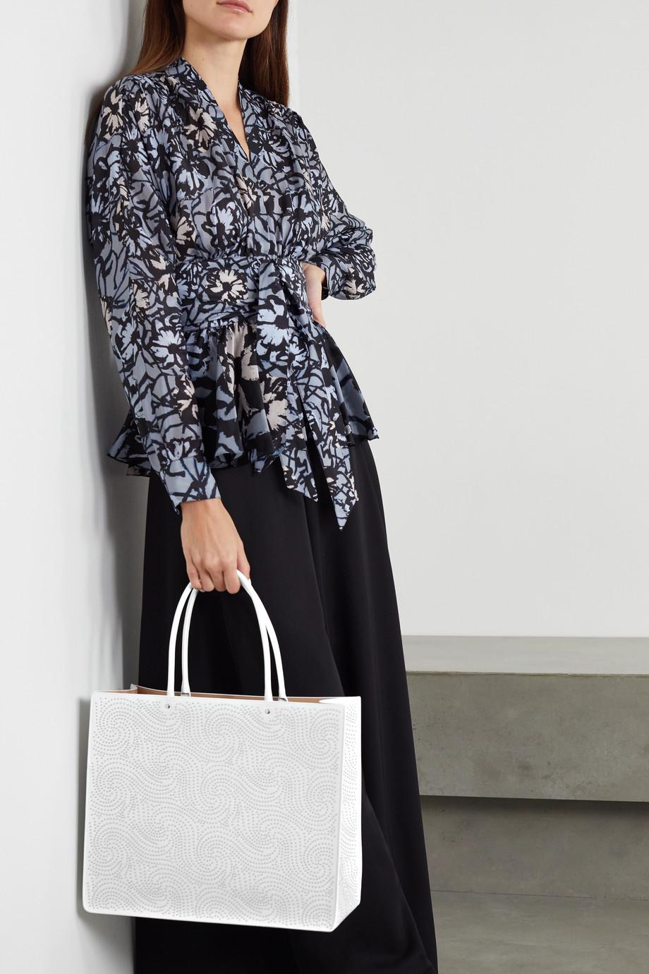 Alaïa Garance medium studded leather tote
