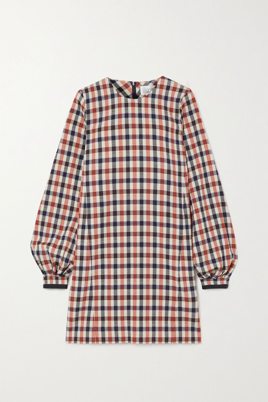 Victoria, Victoria Beckham Checked jacquard dress