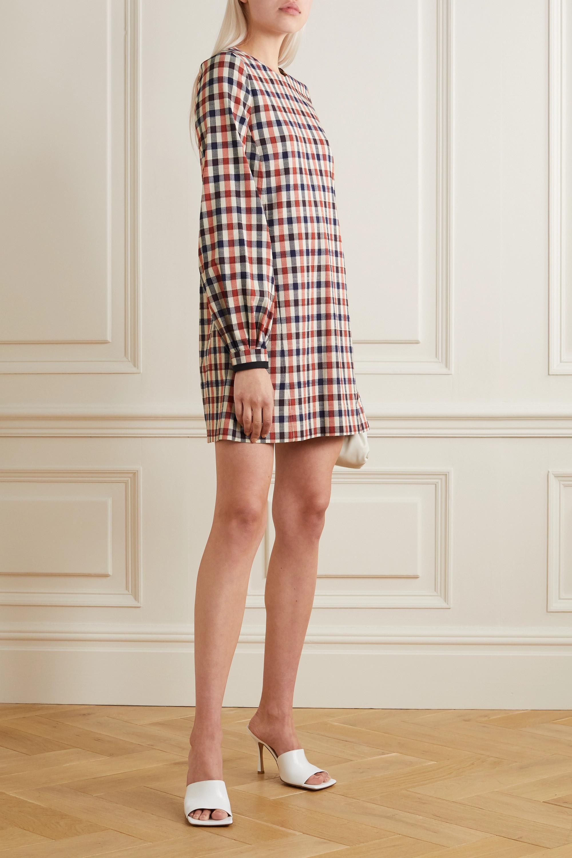 Victoria, Victoria Beckham Checked jacquard dress
