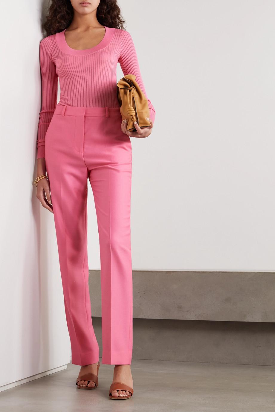 Victoria, Victoria Beckham Drainpipe wool straight-leg pants