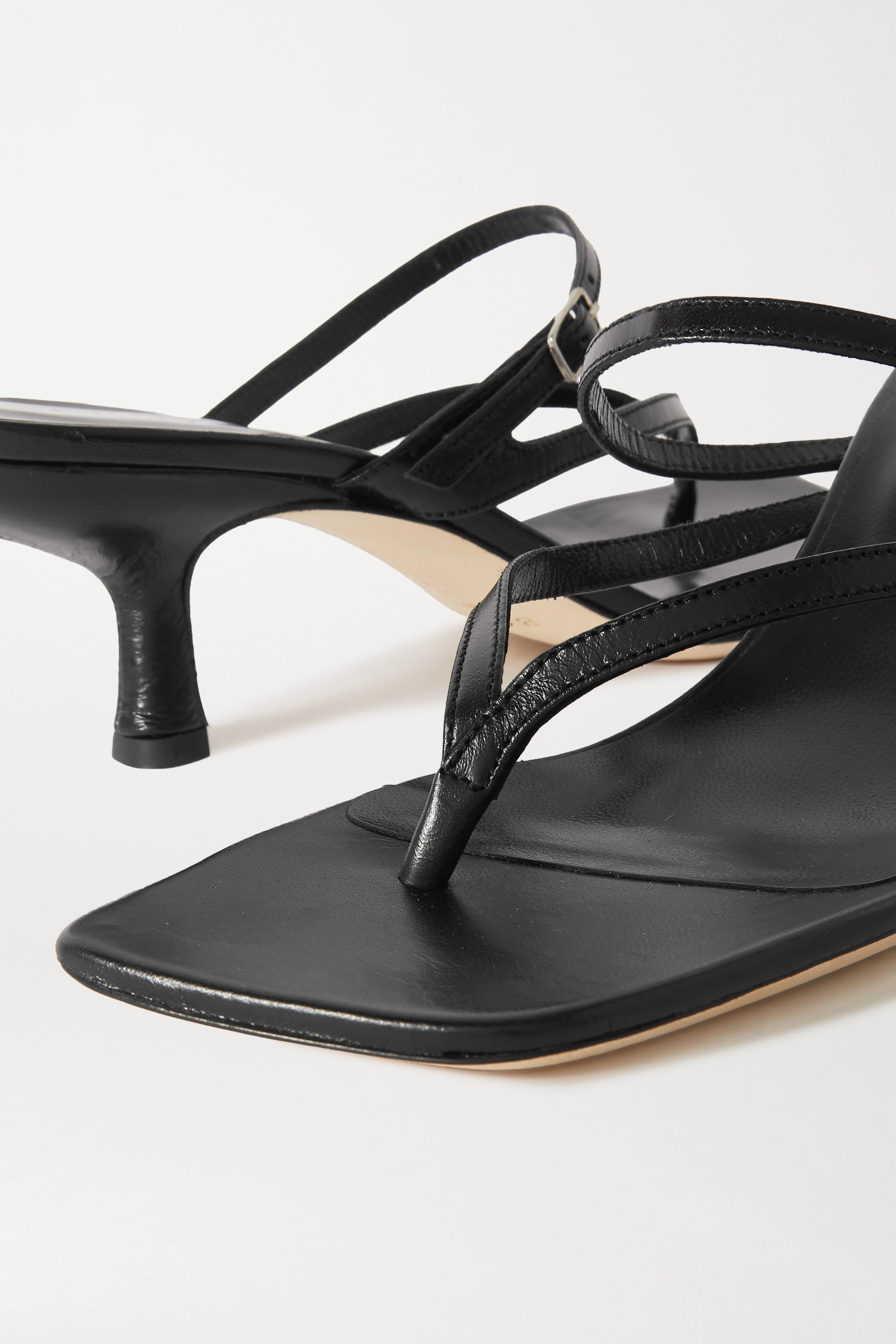 BY FAR Desiree leather sandals