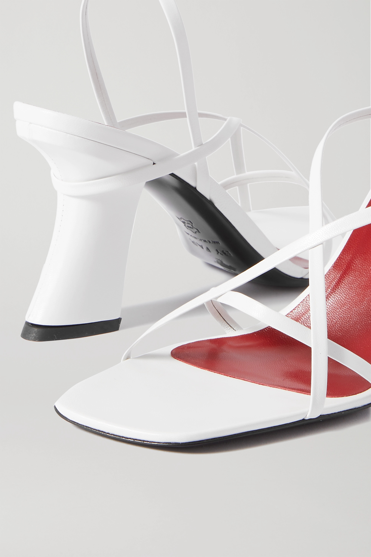BY FAR Kersti 皮革凉鞋