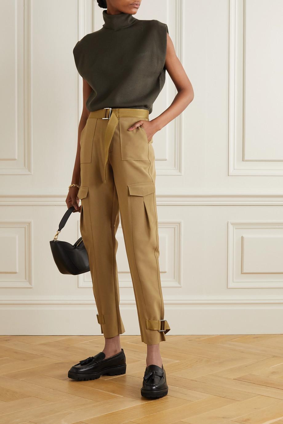 Holzweiler Skunk 配腰带梭织工装裤