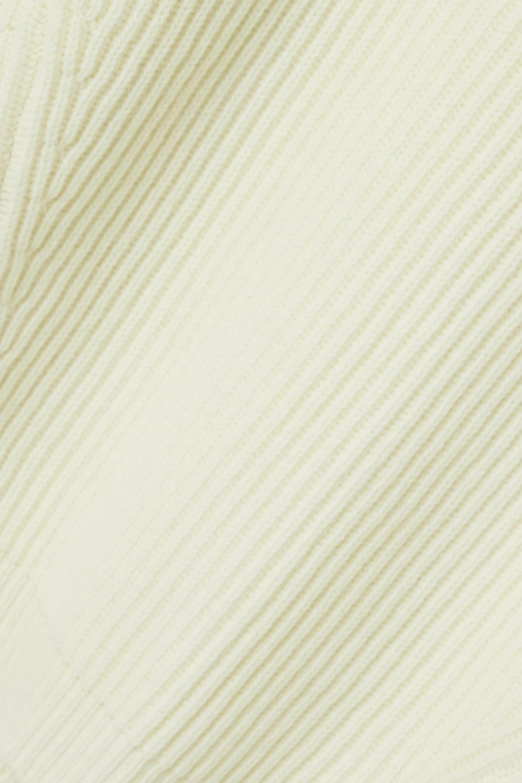 &Daughter + NET SUSTAIN Inver Rollkragenpullover aus einer gerippten Merinowollmischung