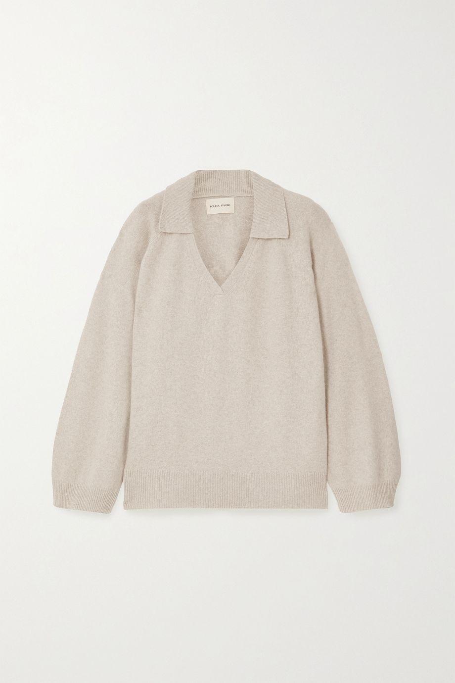 LOULOU STUDIO Sperone wool-blend sweater