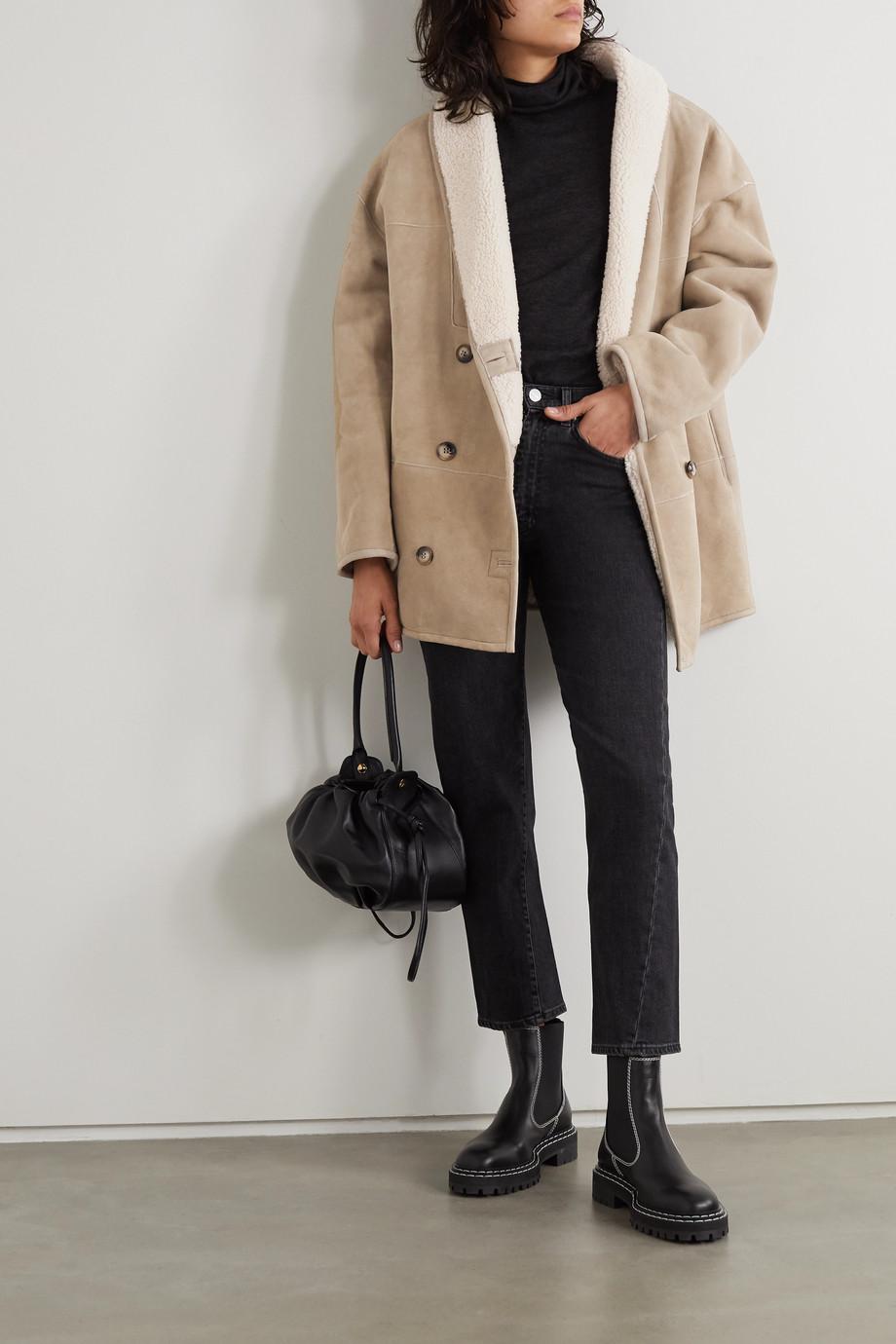 LOULOU STUDIO Oversized shearling coat
