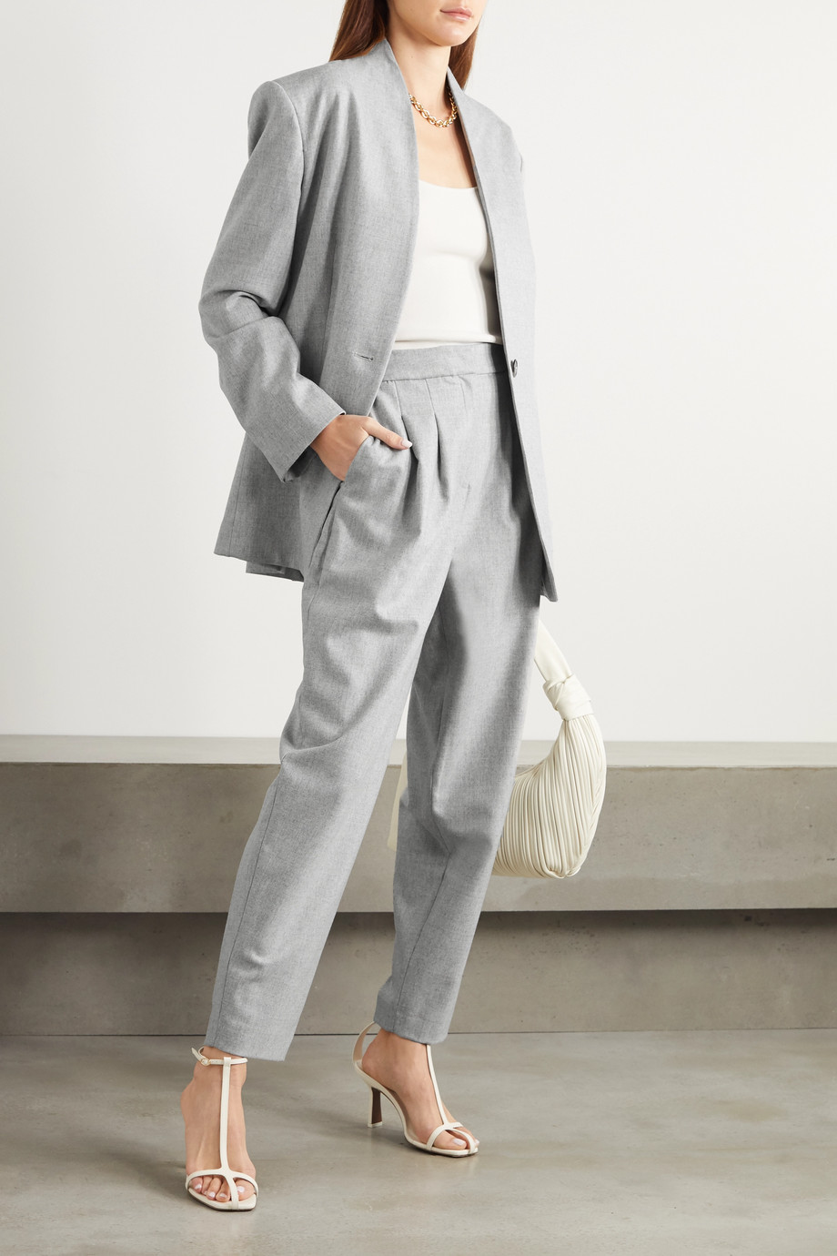 LOULOU STUDIO Wool-blend blazer