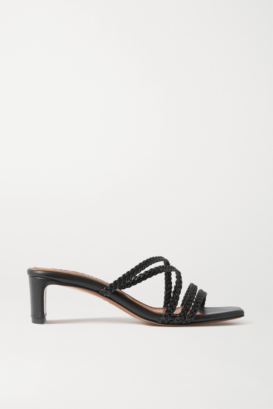 Souliers Martinez Ana braided leather mules