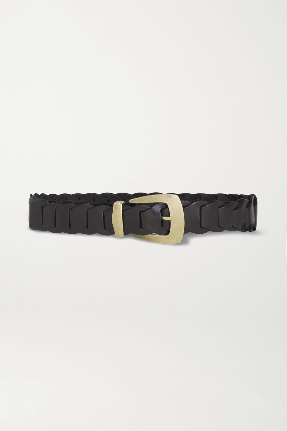 Kate Cate Woven leather belt
