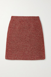 Giuliva Heritage The Theo checked wool-blend mini skirt