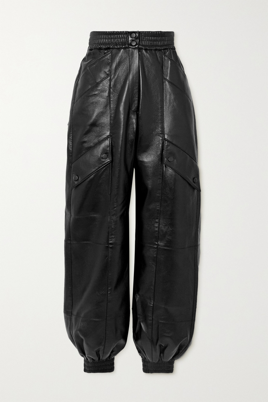 MATERIEL Faux leather tapered pants