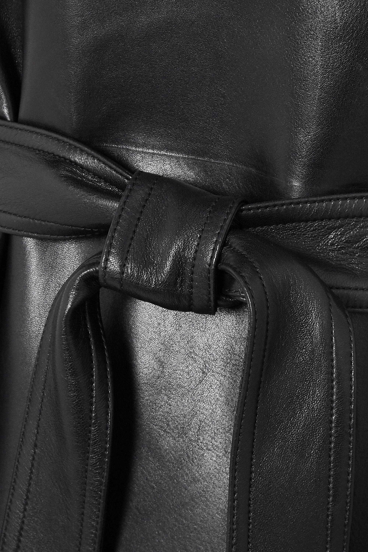 Alexander McQueen Trenchcoat aus Leder