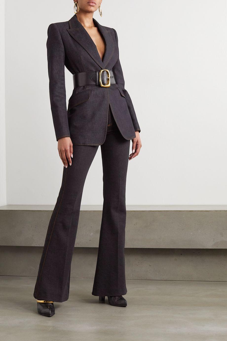 Alexander McQueen Denim blazer