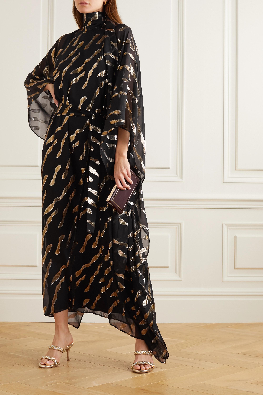 Taller Marmo Bizet fil coupé silk-blend chiffon kaftan