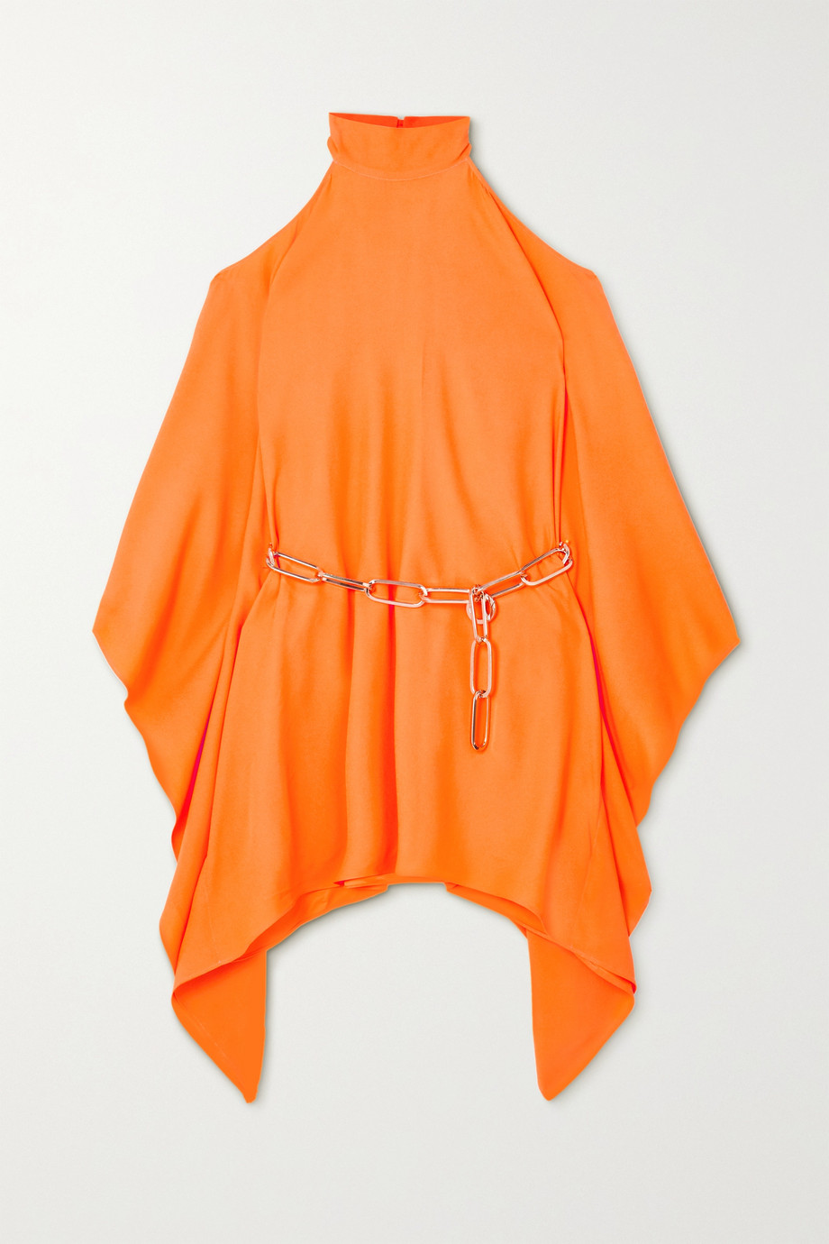 Taller Marmo Piccola Divina embellished draped crepe mini dress