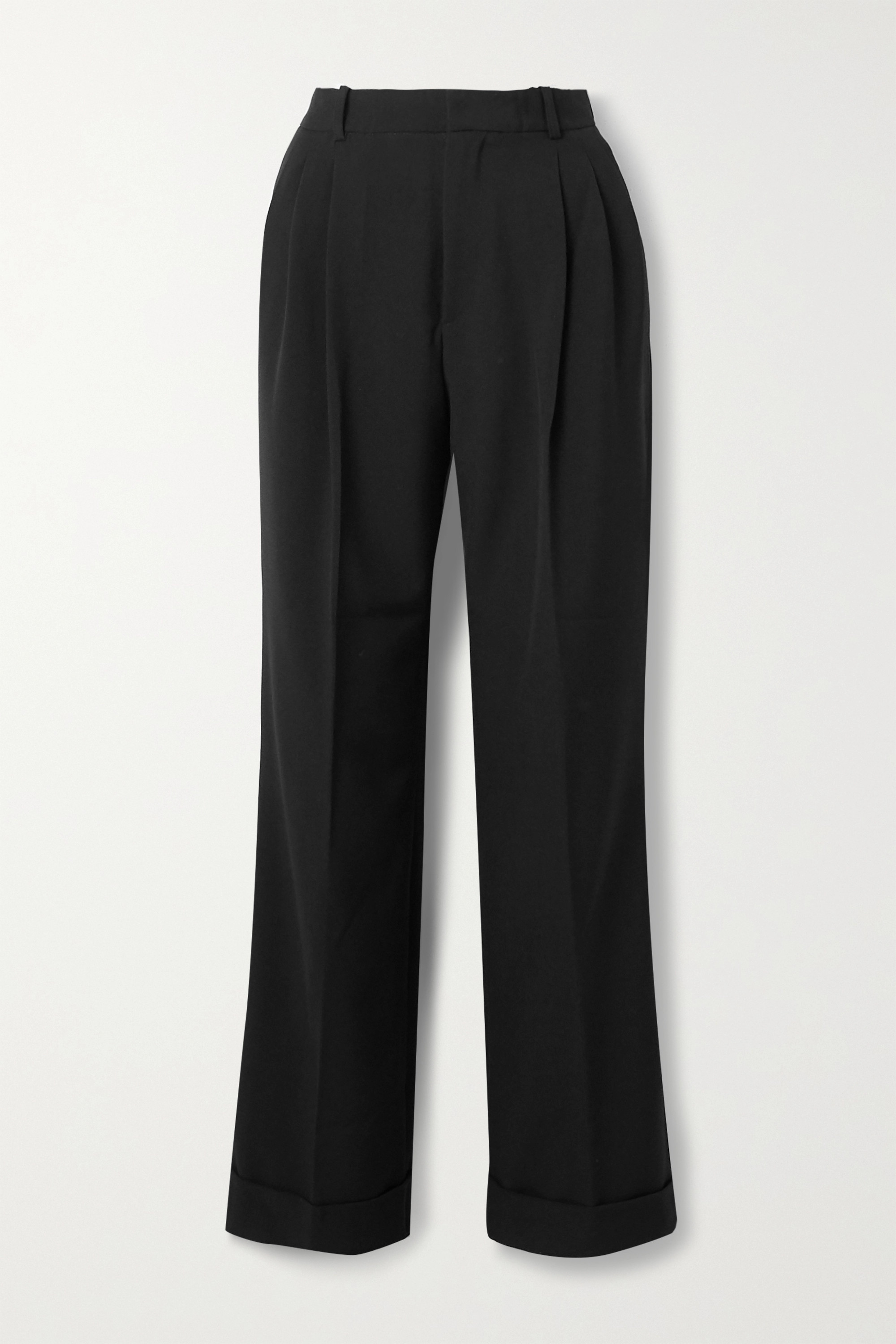 Àcheval Pampa Gardel pleated woven wide-leg pants