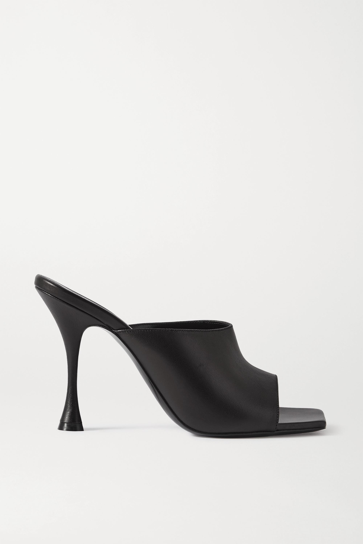 Magda Butrym Estonia 皮革穆勒鞋