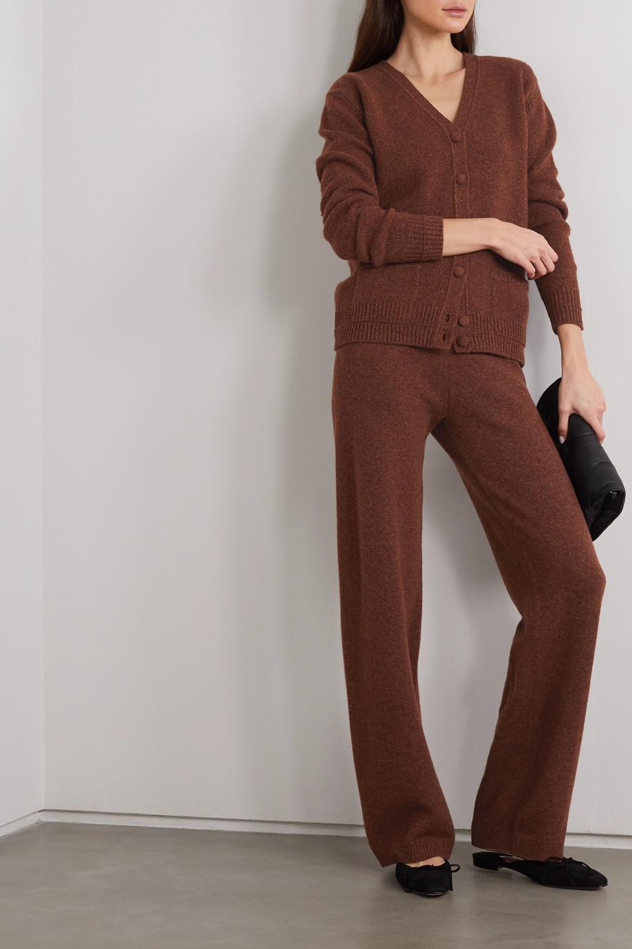 Alexandra Golovanoff Thérèse wool and cashmere-blend cardigan