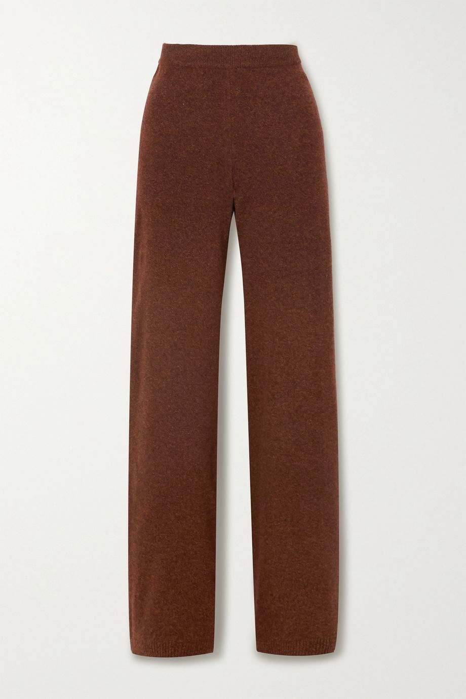Alexandra Golovanoff Patdroit wool and cashmere-blend track pants
