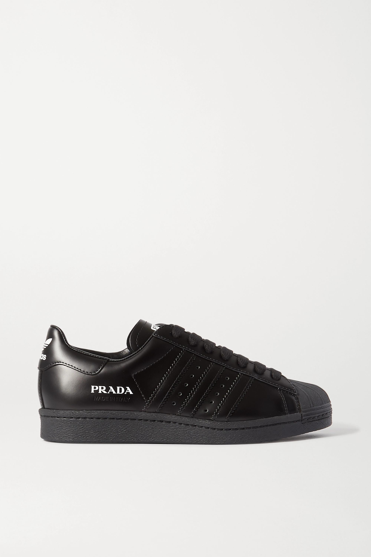 Adidas Originals Leathers PRADA SUPERSTAR LEATHER SNEAKERS