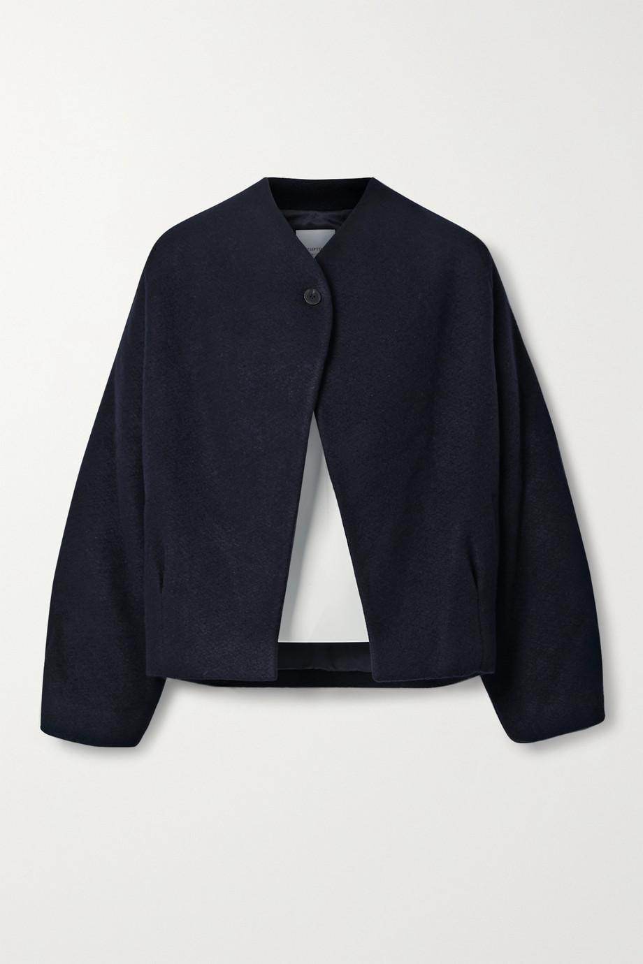 LE 17 SEPTEMBRE Wool and cashmere-blend bouclé jacket