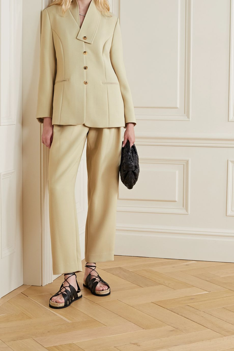 LE 17 SEPTEMBRE Convertible woven blazer