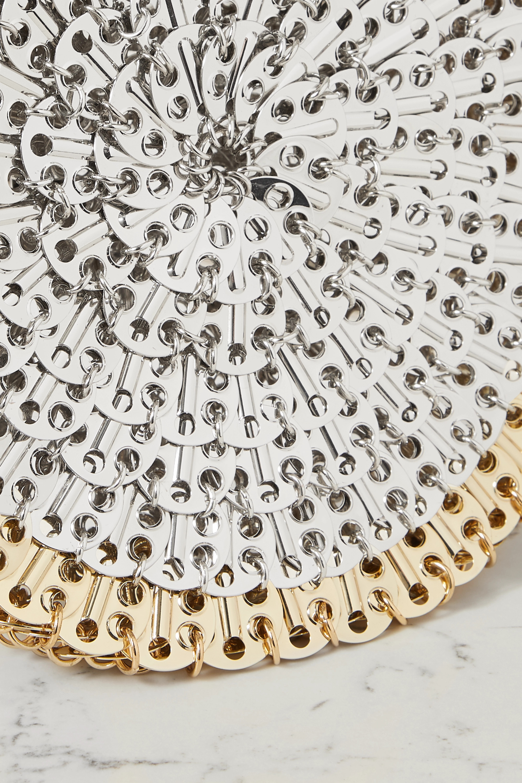 Paco Rabanne 1969 Circle Skyline chainmail shoulder bag