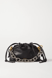 Yuzefi Bom mini chain-embellished leather tote