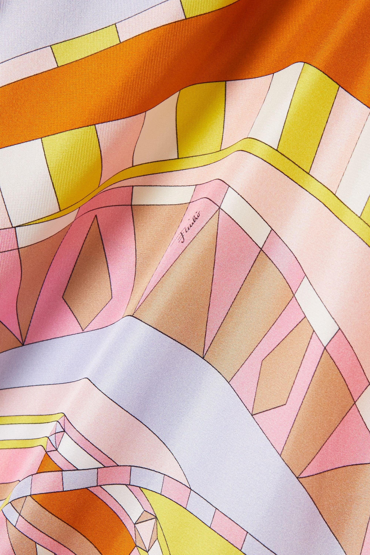 Emilio Pucci Printed silk-satin kaftan