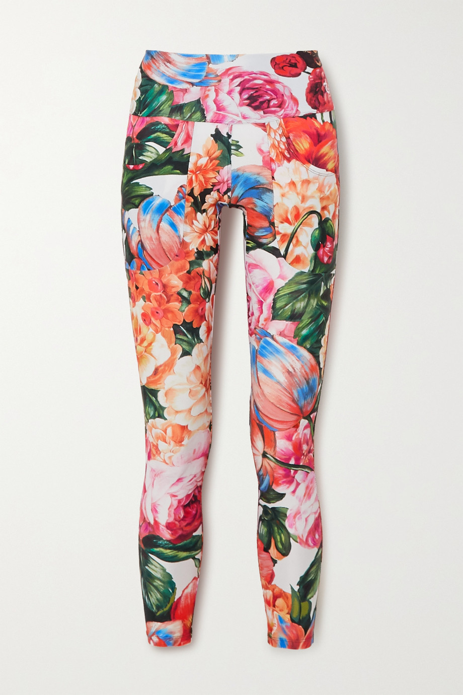 Twin Fantasy Floral-print stretch leggings