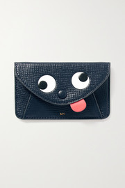 Anya Hindmarch Zany textured-leather cardholder