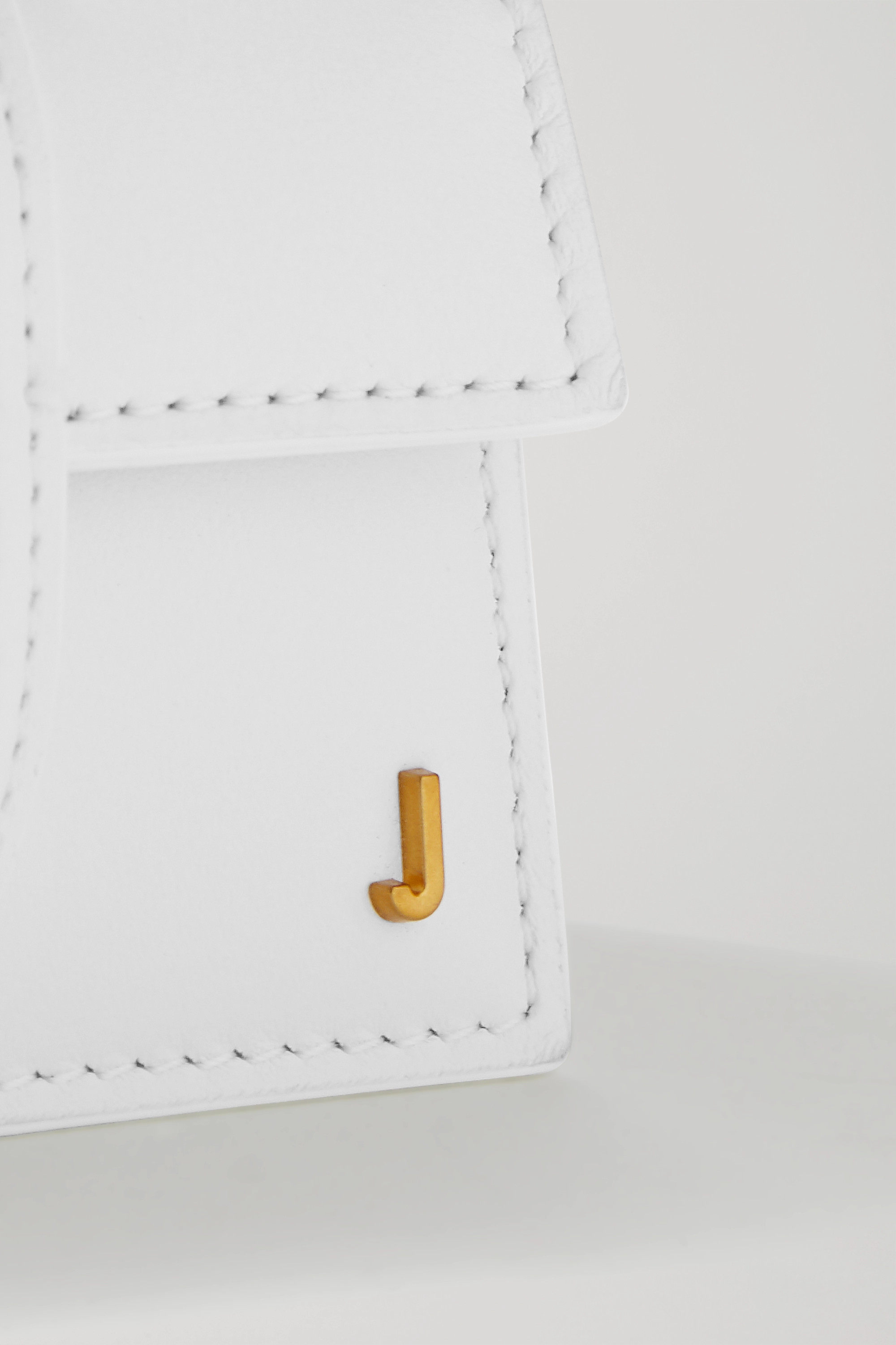Jacquemus Le Bambino Petit leather tote