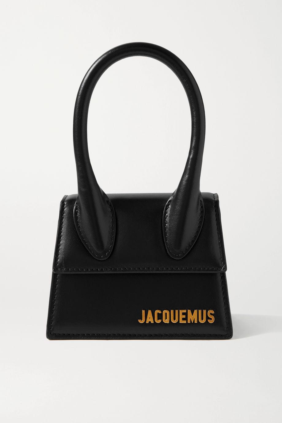 Jacquemus Le Chiquito mini Tote aus Leder
