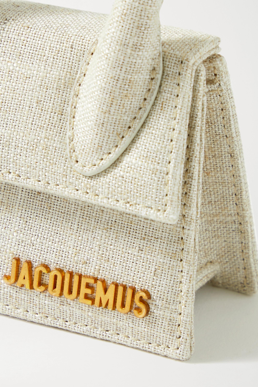 Jacquemus Le Chiquito 亚麻迷你手提包
