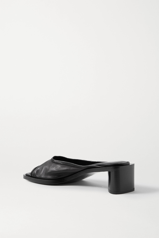 Acne Studios Leather mules