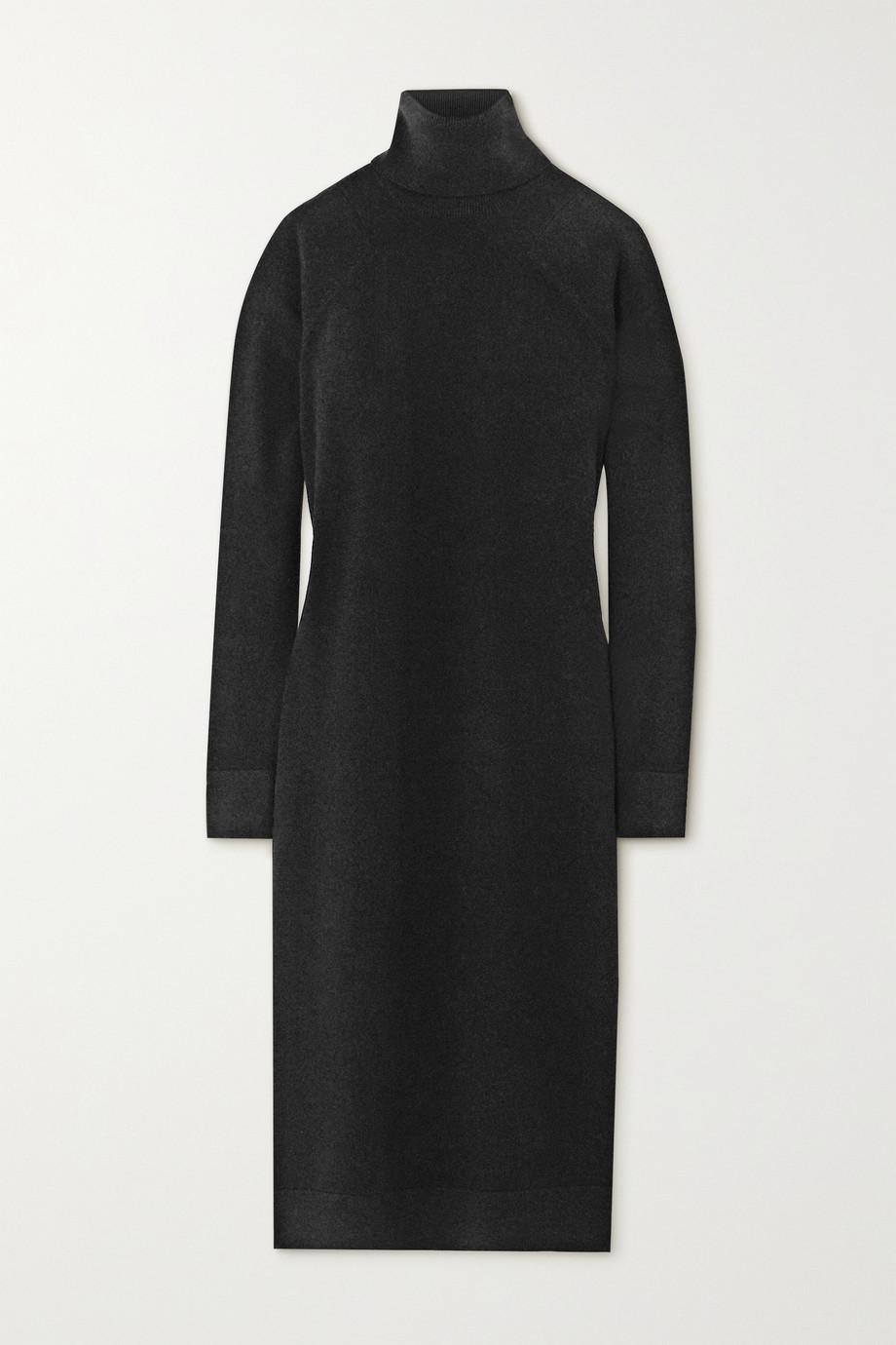 Haider Ackermann Wool and cashmere-blend turtleneck midi dress