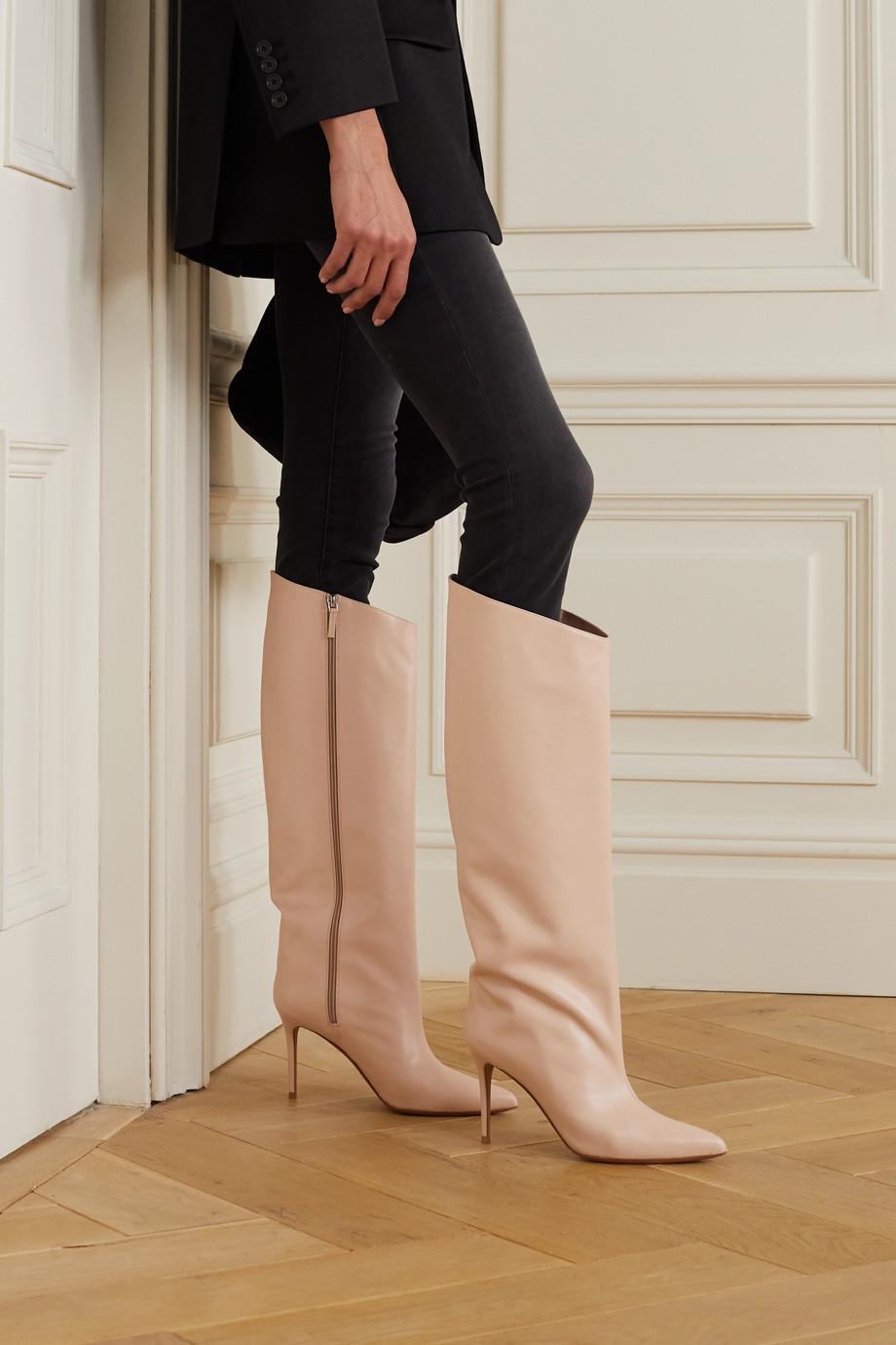 Alexandre Vauthier Alex leather knee boots