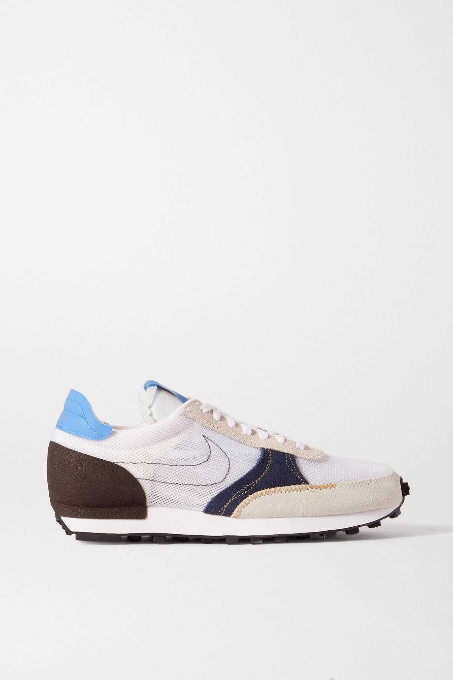 Nike Daybreak Type N.354 mesh, faux suede and leather sneakers