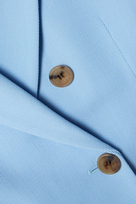Racil Cambridge 双排扣斜纹呢西装外套