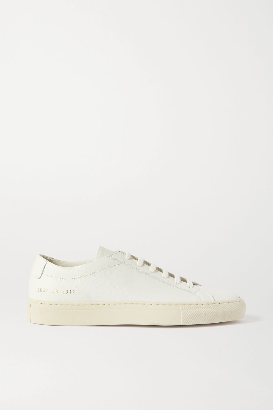 Common Projects Achilles textured-leather sneakers